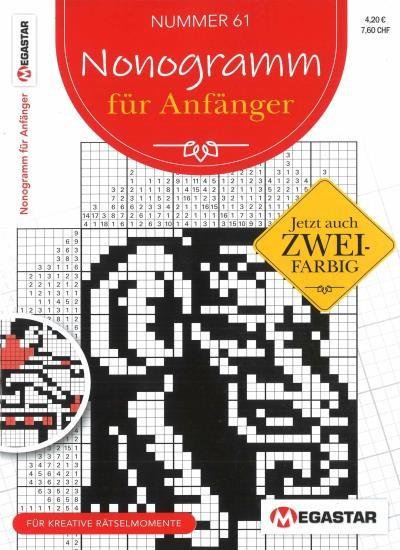 NONOGRAMM FÜR ANFÄNGER 61/2020
