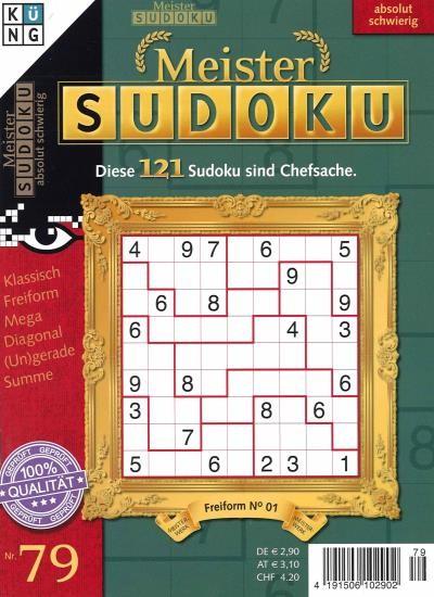 MEISTER SUDOKU 79/2021