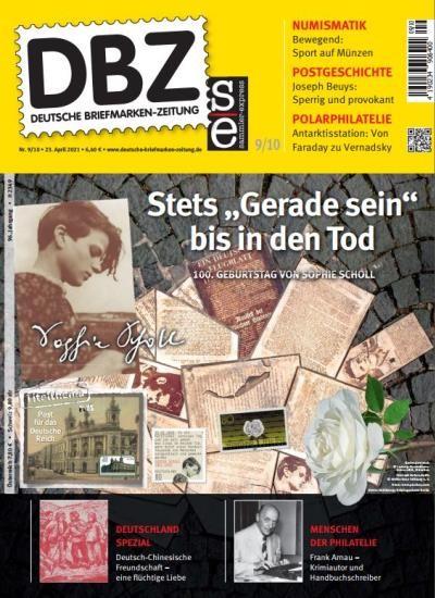 DBZ DEUTSCHE BRIEFMARKEN-ZEITUNG 9/2021