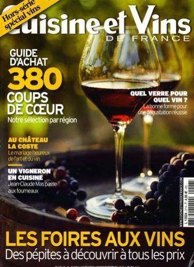 CUISINE ET VINS DE FRANCE / F Abo