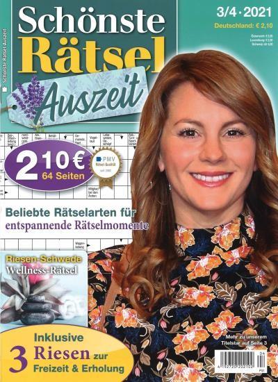 SCHÖNSTE RÄTSEL AUSZEIT 4/2021