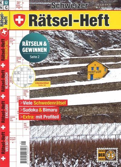 SCHWEIZER RÄTSEL-HEFT 1/2020