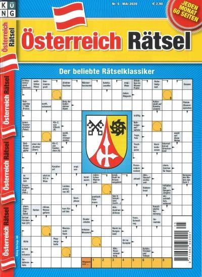 ÖSTERREICH RÄTSEL 5/2020