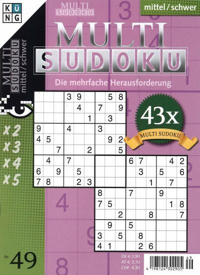 MULTI SUDOKU 49/2021