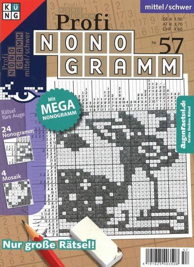 PROFI NONOGRAMM 57/2019