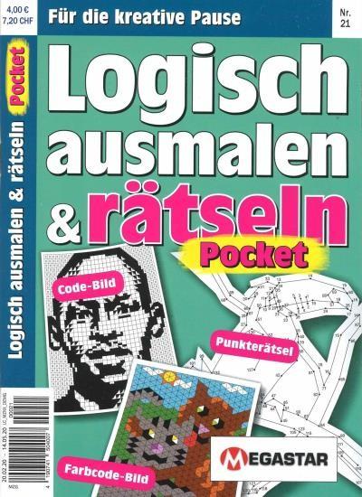 LOGISCH AUSMALEN & RÄTSELN POCKET Abo