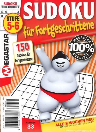 150 SUDOKU FÜR FORTGESCHRITTENE 33/2021