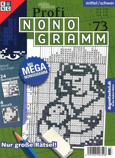 PROFI NONOGRAMM 73/2021