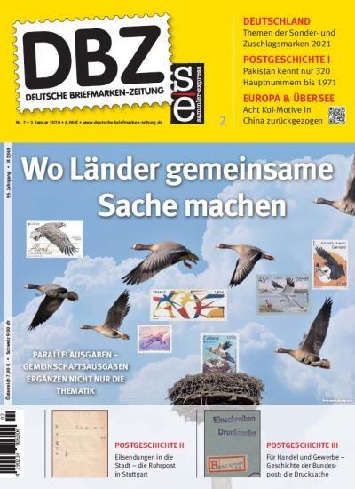 DBZ DEUTSCHE BRIEFMARKEN-ZEITUNG 2/2020
