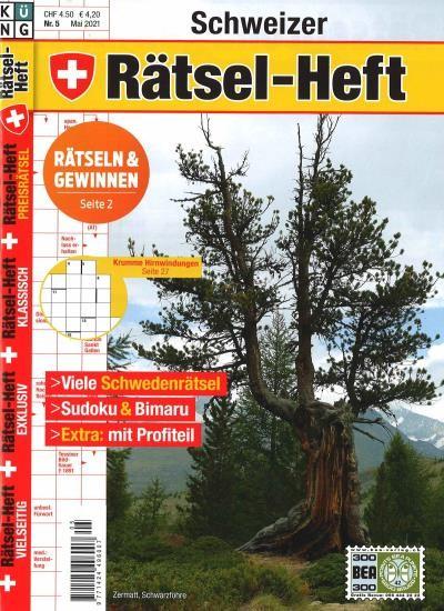 SCHWEIZER RÄTSEL-HEFT 5/2021