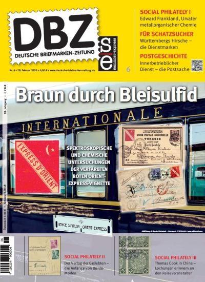 DBZ DEUTSCHE BRIEFMARKEN-ZEITUNG 6/2020