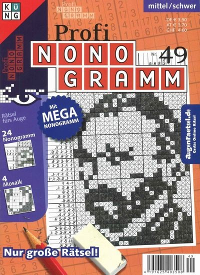 PROFI NONOGRAMM 49/2017