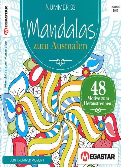 MANDALAS ZUM AUSMALEN 33/2021
