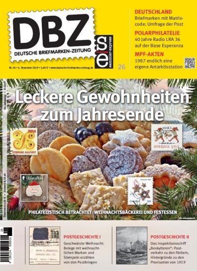 DBZ DEUTSCHE BRIEFMARKEN-ZEITUNG 26/2019