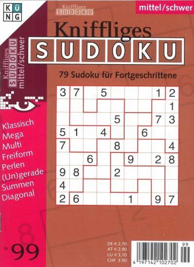 KNIFFLIGES SUDOKU 99/2021