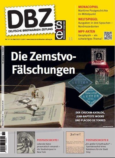 DBZ DEUTSCHE BRIEFMARKEN-ZEITUNG 11/2019