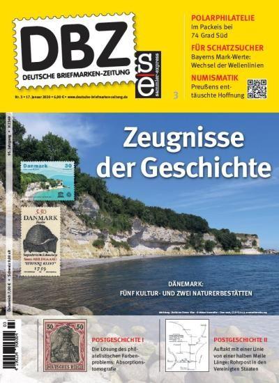 DBZ DEUTSCHE BRIEFMARKEN-ZEITUNG 3/2020