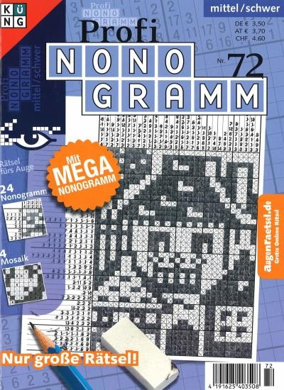 PROFI NONOGRAMM 72/2021