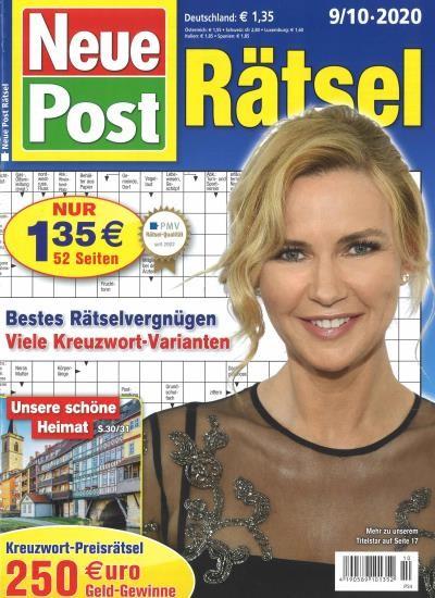NEUE POST RÄTSEL 10/2020