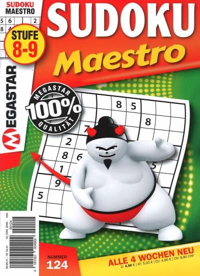 SUDOKU MAESTRO 124/2021