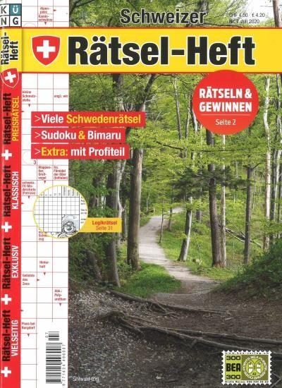 SCHWEIZER RÄTSEL-HEFT 7/2020