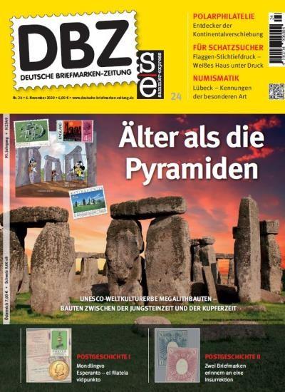 DBZ DEUTSCHE BRIEFMARKEN-ZEITUNG 24/2020