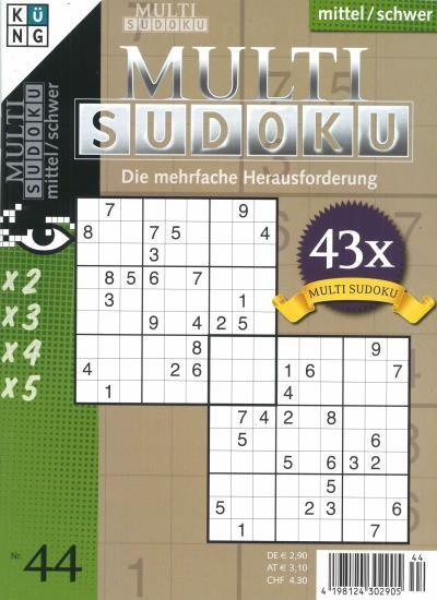 MULTI SUDOKU 44/2020