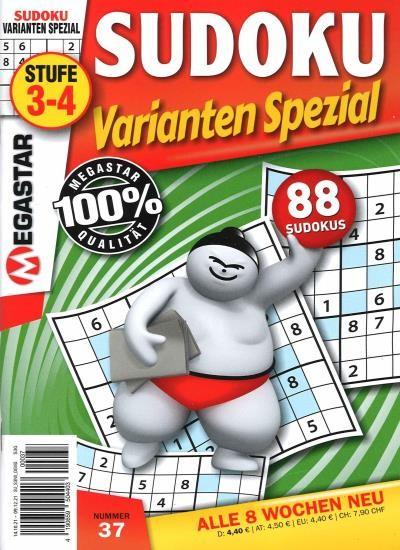 SUDOKU VARIANTEN SPEZIAL 37/2021