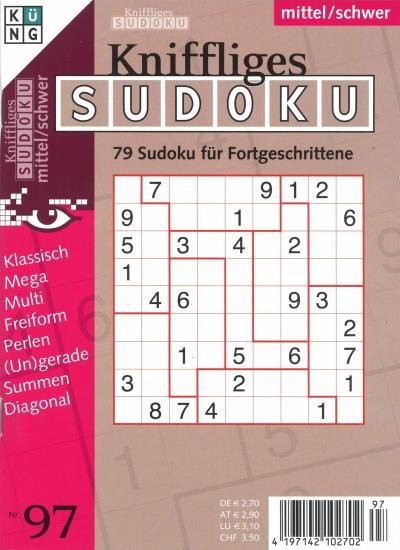 KNIFFLIGES SUDOKU 97/2020