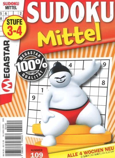 SUDOKU MITTEL 109/2020