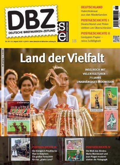 DBZ DEUTSCHE BRIEFMARKEN-ZEITUNG 18/2020