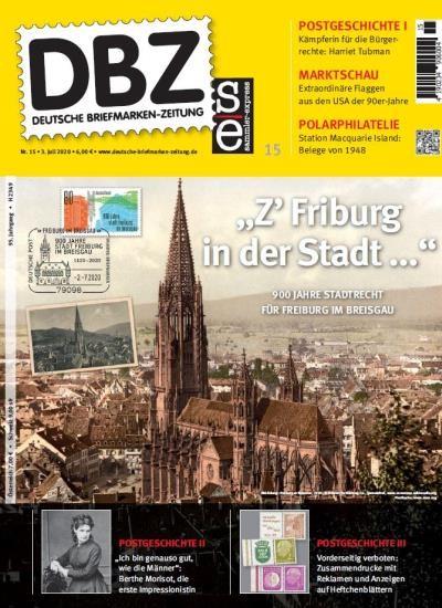 DBZ DEUTSCHE BRIEFMARKEN-ZEITUNG 15/2020