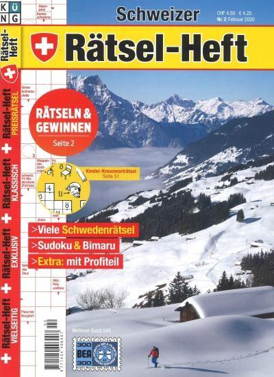 SCHWEIZER RÄTSEL-HEFT 2/2020
