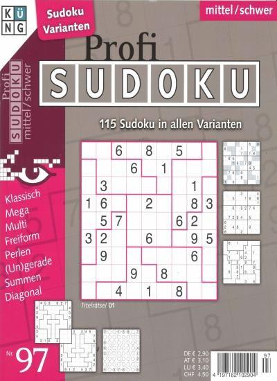 PROFI SUDOKU 97/2020