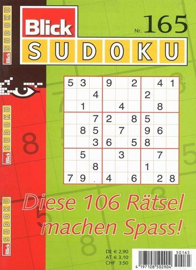 BLICK SUDOKU 165/2019