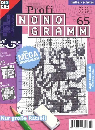 PROFI NONOGRAMM 65/2020