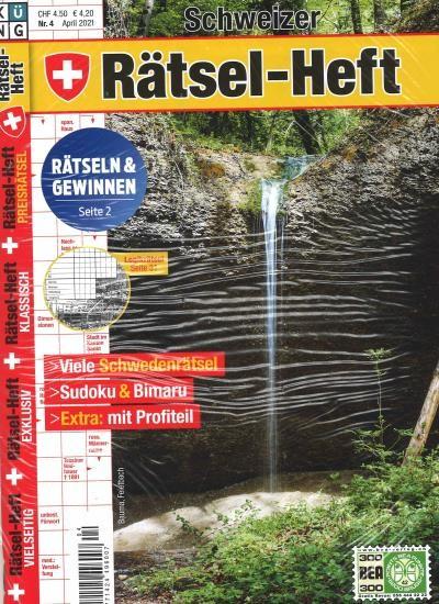 SCHWEIZER RÄTSEL-HEFT Abo
