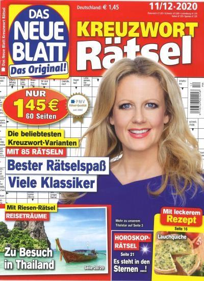 DAS NEUE BLATT RÄTSEL 12/2020
