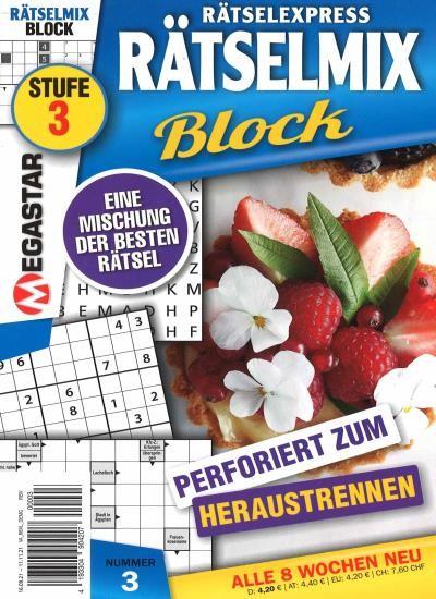 RÄTSELMIX BLOCK 3/2021
