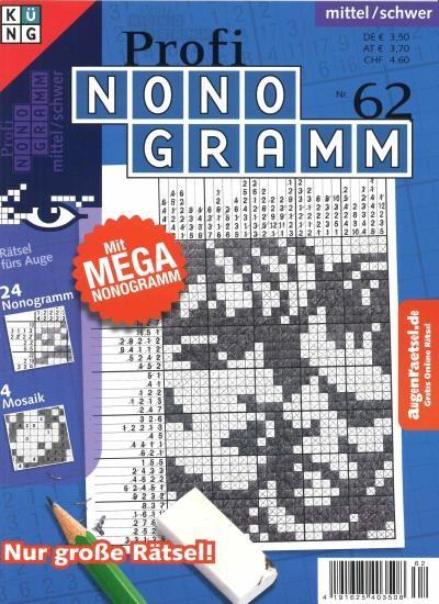 PROFI NONOGRAMM 62/2019