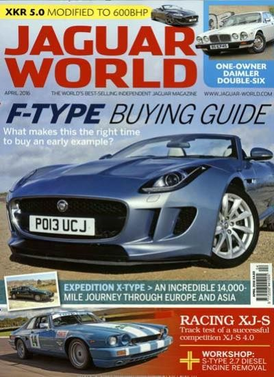 JAGUAR WORLD MONTHLY / GB Abo