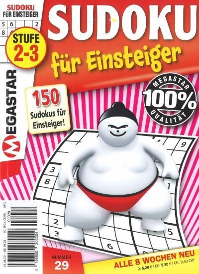 150 SUDOKU FÜR EINSTEIGER 29/2020
