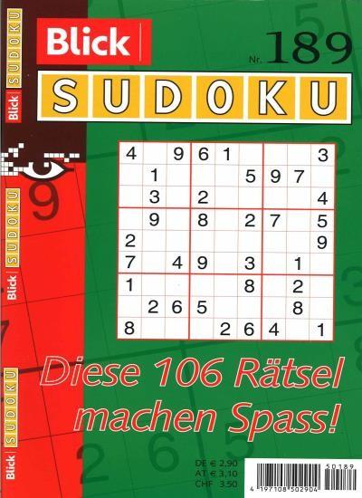 BLICK SUDOKU 189/2021