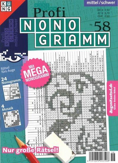 PROFI NONOGRAMM 58/2019