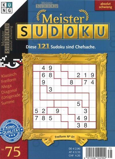 MEISTER SUDOKU 75/2020
