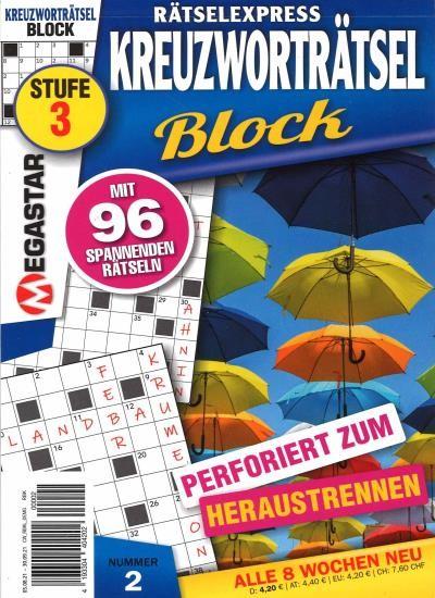 KREUZWORTRÄTSEL BLOCK 2/2021