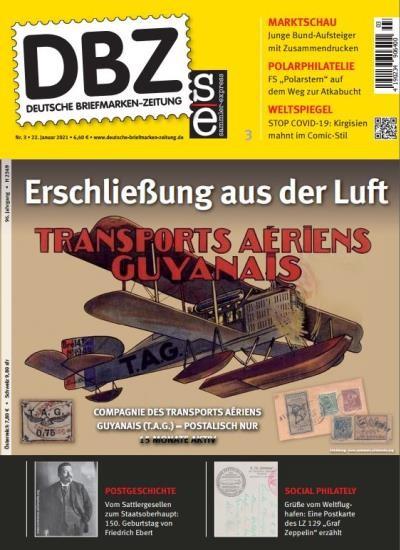 DBZ DEUTSCHE BRIEFMARKEN-ZEITUNG 3/2021