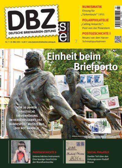DBZ DEUTSCHE BRIEFMARKEN-ZEITUNG 7/2021