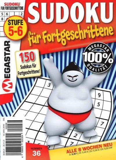 150 SUDOKU FÜR FORTGESCHRITTENE 36/2021