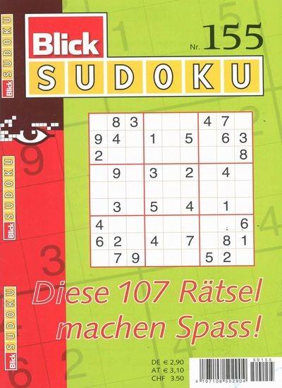 BLICK SUDOKU 155/2018